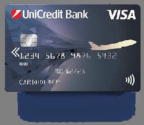 ЮниКредит Банк - Дебетовая карта Visa Air