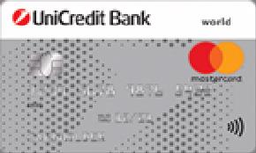ЮниКредит Банк Дебетовая карта АвтоКарта Mastercard
