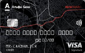 Alfa Travel, карта Альфа-Банка