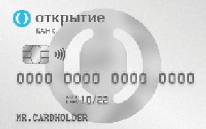 Открытие Opencard Кредитная