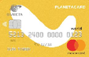 Tinkoff PlanetaCard Кредитная